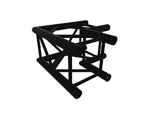 Black truss A290 No. 8286 - 500x500 mm - L-roh